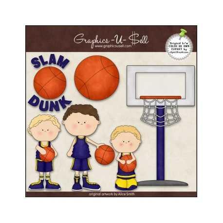 Download - Clip Art - Slam Dunk