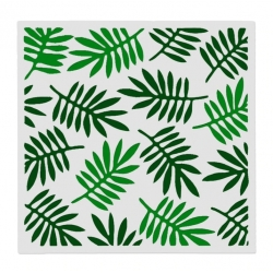 Reusable Stencil - Tropical Leaves (1pc)