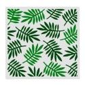 13 x 13cm Reusable Stencil - Tropical Leaves (1pc)