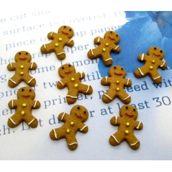 Resin Gingerbread Men (10pcs)