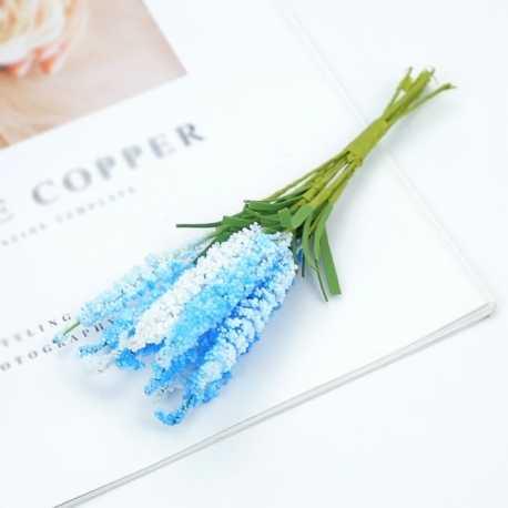 Mini Heather - Blue (10 flowers)