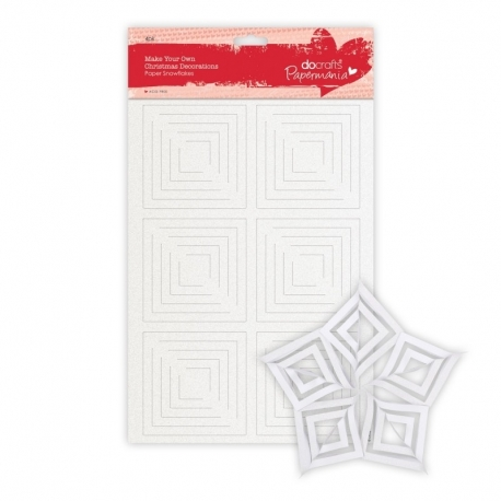 Make your own Decorations - Snowflakes (PMA 105921)