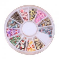 Polymer Clay Confetti - Cake