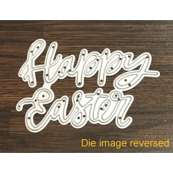 Printable Heaven die - Happy Easter (1pc)