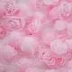 Stemless Foam Rose-heads - Pale Pink (50pcs)