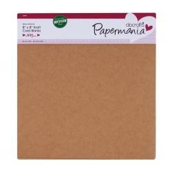 """8"""" x 8"""" Kraft card blanks & envelopes, 6 pack (PMA 151400)"""