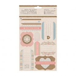 Craft Collection Pastels A5 Die-cut Toppers (PMA 157249)