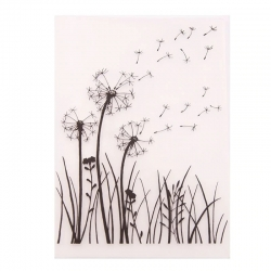 A6 Embossing folder - Dandelion Seeds