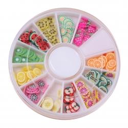 Polymer Clay Confetti - Fruit
