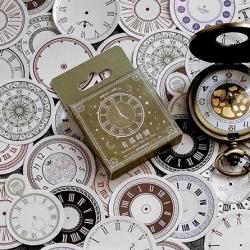 Stickers Box - Clocks (46pcs)