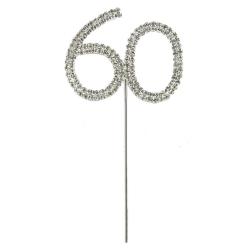 Diamante Number Pick - 60 (1pc)