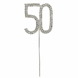 Diamante Number Pick - 50 (1pc)
