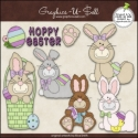 Download - Clip Art - Hoppy Easter