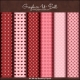 Download - Valentine Hearts Backing Papers