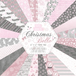 Paper Addicts Christmas Belle 12x12 Paper Pad (PAPAD055X19)
