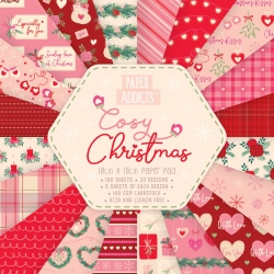 Paper Addicts Cosy Christmas 10cmx10cm Paper Pad (PAPAD060X19)