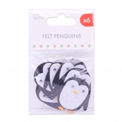 Simply Creative Basics Felt Penguins (SCTOP063X19)