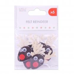 Simply Creative Basics Felt Reindeer (SCTOP061X19)