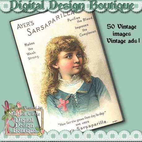 Download - 50 Vintage Adverts 1