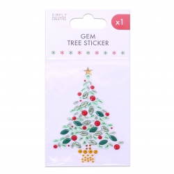 Simply Creative Basics Gem Tree Sticker (SCSTK203X19)