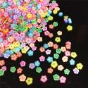 Polymer Clay Confetti Bag - Flowers