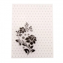A6 Embossing folder - Polka Dot Rose