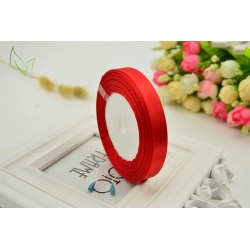 10mm Satin Ribbon - Red (25 yards)