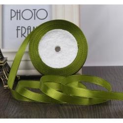 10mm Satin Ribbon - Green (25 yards)