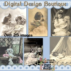 Download - Girls and Their Dolls