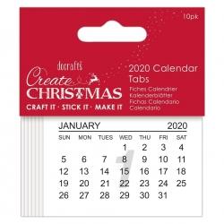 2020 Calendar Tabs (PMA 172320)