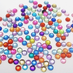5mm Round Gems Assorted (250pcs)