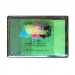 Artiste Shading Ink Pad - Greens (DOA 550150)