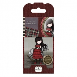 Collectable Rubber Stamp - Gorjuss No. 20, The Getaway (GOR