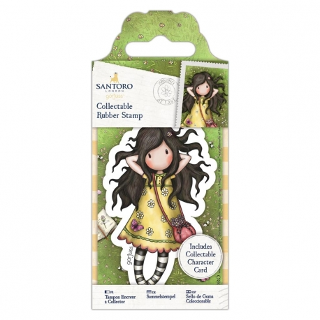 Collectable Rubber Stamp - Gorjuss No. 43, Spring at Last (GOR