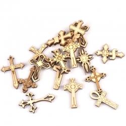 Wooden Crosses (10pcs)