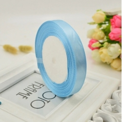 10mm Satin Ribbon - Pale Blue (25 yards)