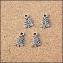 Metal Charms - Small Christmas Tree (14)
