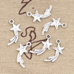 Metal Charms - Shooting Stars (16)