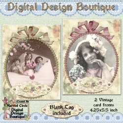 Download - Victorian Note Cards 1