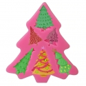 Small Silicone Mould - Multi Christmas Tree
