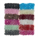 Foam Roses - Assorted 12 Bunch pack (144 roses)