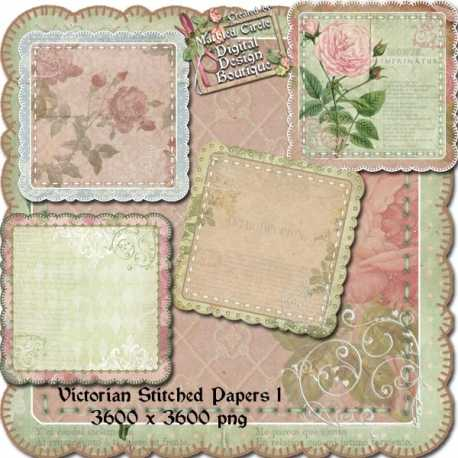 Download - Victorian Stitched Papers