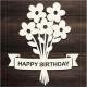 Printable Heaven die - Happy Birthday Bunch (1pc)