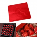 Chocolate Foil - Red (100pcs)