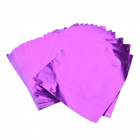 Chocolate Foil - Purple (100pcs)