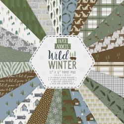 Paper Addicts Wild Winter 12x12 Paper Pad (PAPAD061X19)