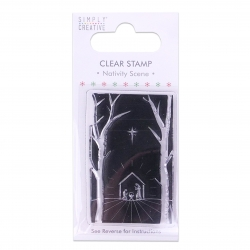 Simply Creative Christmas Stamp - Nativity Scene (SCSTP016X19)