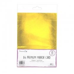Dovecraft A4 Mirror card - Gold (DCBS162)