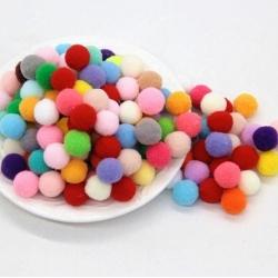 10mm Pom-poms Multi-pack (100pcs)