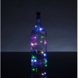Bottle Top String Lights Multi (HOM2396)